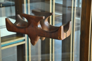 Sanctuary door handles.  Jehovah Lutheran Church, photograph by author.