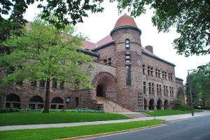Pillsbury Hall, University of Minnesota, photograph by author.