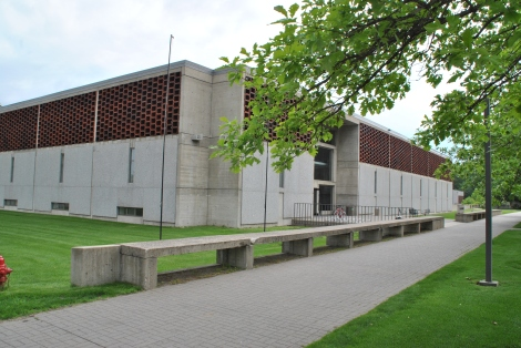 Alcuin Library designed by Marcel Breuer.