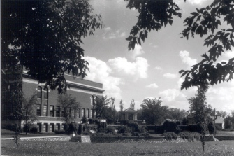 Coolidge Sylvan Theatre, 1980s, National Register of Historic Places photograph, South Dakota State Historic Preservation Office.