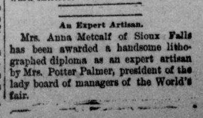 Shenandoah Herald (VA), October 19, 1894.  Virginia Chronicle, Library of Virginia website.
