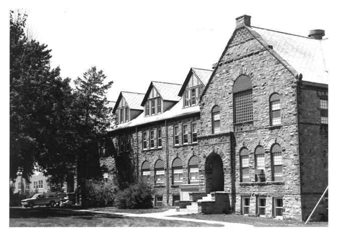 South Dakota School for the Deaf, Old Boys Dormitory, built c1885, NRHP photo c.1980