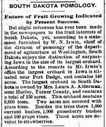 Turner County Herald, 1900.